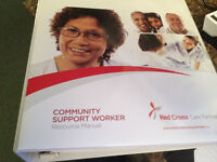 Red Cross Community Support Worker - Resource Manual