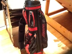 Golf Bag, Cart and Misc Clubs