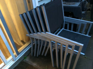 Free patio chairs and dining chair