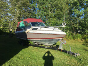 Boat and trailer