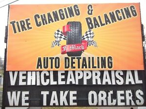 TIRE CHANGES AND BALANCING $49.95  (902) 561-1447