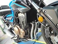 2018 Honda CB 500 F,4k miles Givi top case and racks Lextech exhaust