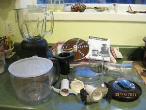 Black & Decker 2-IN-1 FOOD PROCESSOR AND BLENDING JAR