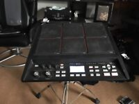 Roland SPDsx sample pad and accessories