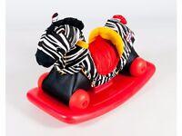 Little Tikes rock & scoot zebra