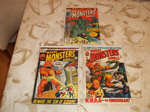 comics marvel where monsters dwell ( 1972 )