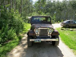 1983 Jeep CJ7 Laredo