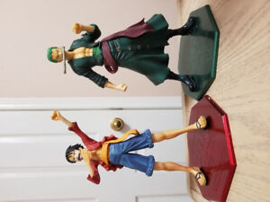 Selling dragon ball z one piece naruto figures