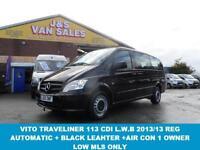 2013 13 MERCEDES-BENZ VITO TRAVELINER 2.1 116 CDI TRAVELINER 5D AUTO 163 BHP L.W