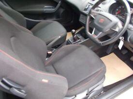 SEAT Ibiza TDI CR FR++CAR NOW SOLD++ (white) 2012