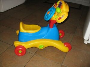 Vtech 3in1 ride on developmental toy