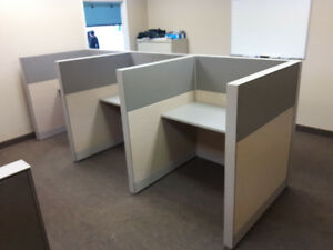 Call Center Cubicle: WorkStaions/Partition, Wall Dividers