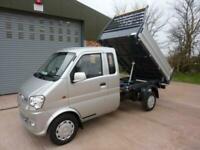 2014 DFSK Loadhopper BIG CAB 3 WAY TIPPER Pick Up Petrol Manual