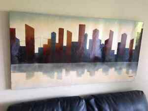 Cool Urban Cityscape Painting