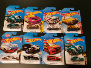 Assorted Hotwheels German cars series for sell new and sealed