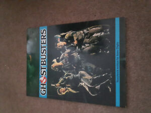 Ghostbusters soft cover book