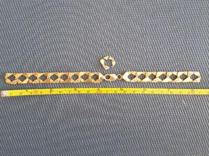 10K Men's Gold Bracelet - Bracelet en or 10K
