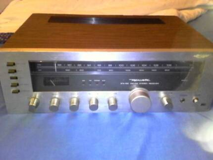 Realistic STA-100 Vintage Solid State Stereo Amplifier / Receiver Mount Druitt Blacktown Area Preview