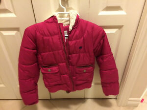 Girl winter coat - size L from Old Navy