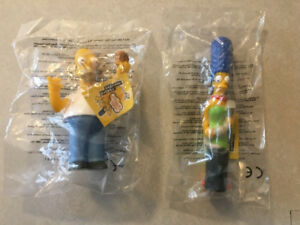 "THE SIMPSONS ""Set of 10 Burger King U.K. Toys"" (2000)(MIP)"