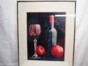 Wine Photograph - framed