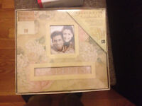 "*Brand New*  K & Company, ""Frame a Name"" Scrapbook Kit"