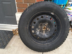[4]-Winter Kumho on Steel Rims - 215/65R15's ANY OFFER PRICE