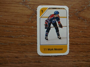 FS: 1982-83 Post Mark Messier (Canadian Food Issue) Mini-Card London Ontario image 1
