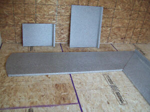 Gray Countertop for U shaped kitchen