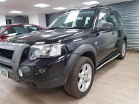 Land Rover Freelander 1.8 HSE BLACK SAT NAV LEATHER FULL SERVICE WARRANTY