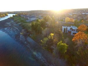 Rare Luxury Waterfront Lot on Winding Way. Build your dream home