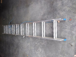 17 ft light duty extension ladder