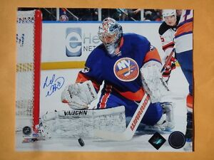 Rick DiPietro New York Islanders Autographed 10 x 8 Photo W/COA