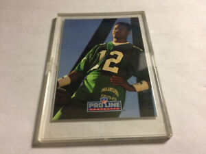 1991Pro Line Portraits Embossing NN Autograph Randall Cunningham
