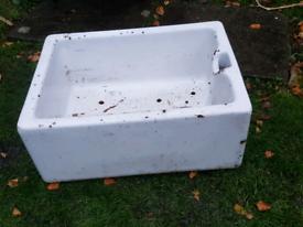 Vintage Butler Belfast Sink No.2 - pre drilled holes