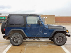 2000 Jeep TJ Sport **for parts or repair**