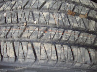 2 16/225/60 all season tires goodyear almost new on steel rims