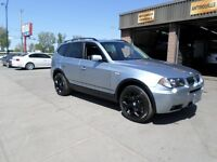 2006 BMW X3 3,0 IS  PANORAMIN ROOF! 1 YEAR WARRANTY!!