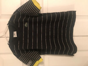 Lacoste shirt size 6 y