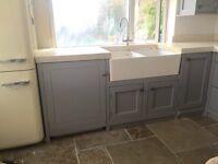 Freestanding solid wood kitchen run