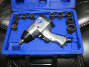 impact wrench with sockets