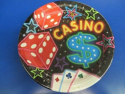 Casino Night Cards Suits Jackpot Poker Theme Party 10.5