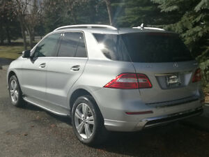 2014 Mercedes-Benz ML350 4MATIC SUV Premium & Sport Package