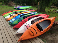 Annual Boat sale: Canoes, Kayaks, SUPs, at Perth Outfitters