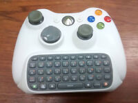 Xbox 360 Wireless Controller + Keypad add-on