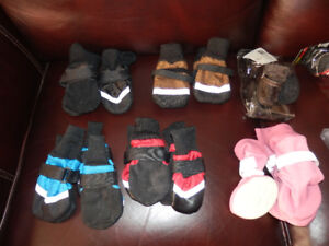 SELECTION OF DOG BOOTS