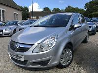 ✿57-Reg Vauxhall Corsa 1.2 Club 5dr, Silver, ✿NICE EXAMPLE✿