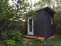 Bunk house, reading shed, cabin, mini house