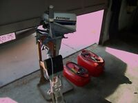 !976 Evinrude 6 HP. Very Low Hours