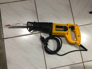 Dewalt corded Reciprocating saw